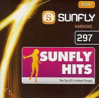 Sunfly Karaoke Volume 297 Hits Of November 2010 CD + G New Sealed