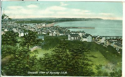 POSTCARD IOM RAMSEY General View