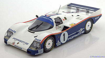 1:18 Norev Porsche 962 C  Winner Le Mans 1986 with Rothmans Decals