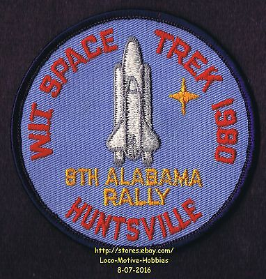 LMH Patch 1980 WINNEBAGO TRAVELERS Club RV Motorhome WIT W.I.T. Huntsville RALLY