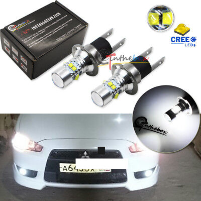 2PCS High Power H3C 64146BC White 50W CREE LED Bulbs Fog Lights or Driving Lamps