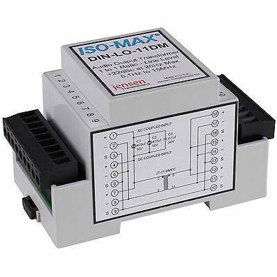 Jensen Iso-Max DIN-LOD Long Run Single Channel DIN Rail Line