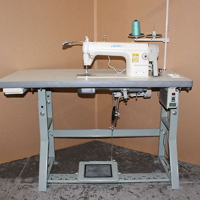 Juki DDL8500 Industrial Single Needle Sewing Machine - New Servo Motor and Table