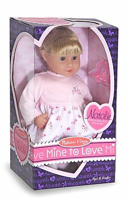 "Natalie - 12"" DOLL # 4882 ~ Melissa & and Doug"