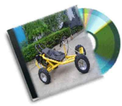 resale business vintage petrol go cart plans dvd rom package