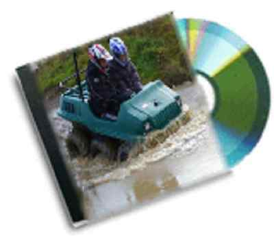 resale business vintage 6 wheel atv buggy  plans dvd rom package deal