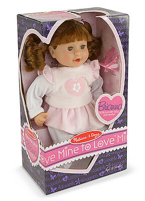 "BRIANNA - 12"" DOLL # 4883 ~ Melissa & and Doug"