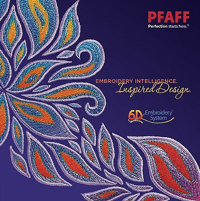6D Premier Machine Embroidery Software - For any embroidery machine