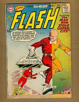 "Flash 116 (FR) DC Comics 1960 Silver Age ""Man Who Stole Central City!"" (c#08294)"