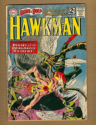 Brave and the Bold 42 (FRPR) DC Comics 1962 HAWKMAN by KUBERT! (c#08275)