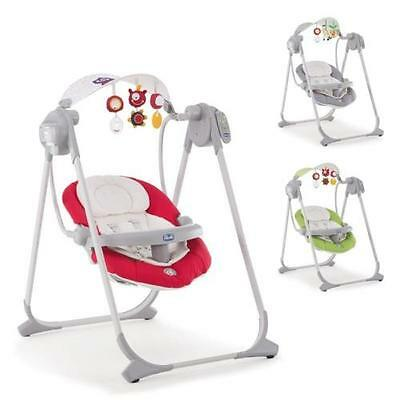Chicco Baby bouncer Polly Swing Up Design 2016 color selectable new