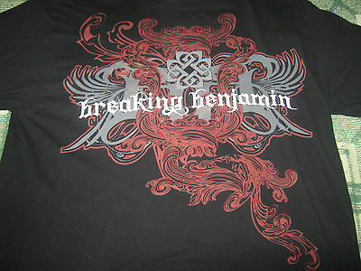 Breaking Benjamin Original  2010 Tour Shirt***xl**