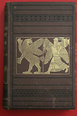 *ANTIQUE* THE CHALDEAN ACCOUNT OF GENESIS by George Smith (Hardcover, 1876)