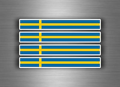 4x sticker decal car stripe motorcycle racing flag bike moto tuning Netherlands