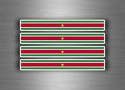 4x sticker decal car stripe motorcycle racing flag bike moto tuning iraq irak