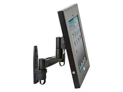 Tablet Articulating Mount Enclosure w/Anti-Theft  Apple iPad Holder 9.7in screen