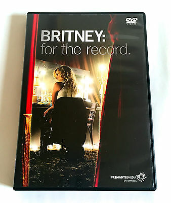BRITNEY SPEARS For The Record JAPAN EDITION DVD 2009 AVBD-91594