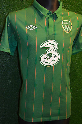 Ireland Eire Umbro 2011-12 Home Football Shirt (Boys Xl 158) Jersey Top Trikot