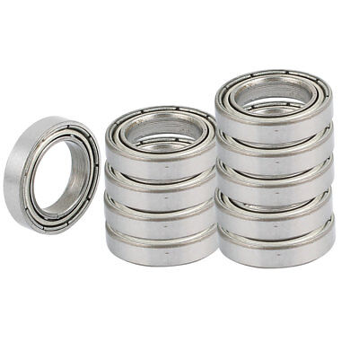 6802Z 10 Pcs 24 x 5mm Roller-Skating Sealed Skating Deep Groove Ball Bearing