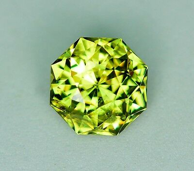 Mali Garnet 3.32 carats! - Natural Yellow Green Grossular - RARE - Untreated