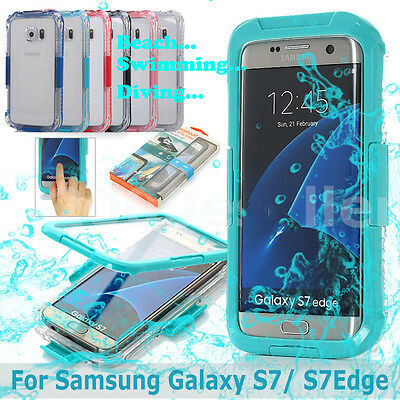 NEW Swimming Waterproof Shockproof Dirt Proof Phone Case Cover Fr Samsung Galaxy
