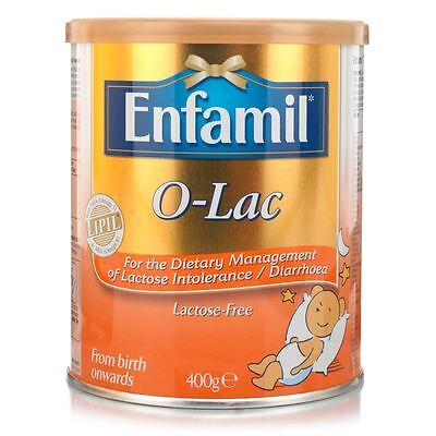 Enfamil O-Lac Powder Formula | Lactose Free | Birth+ 400g