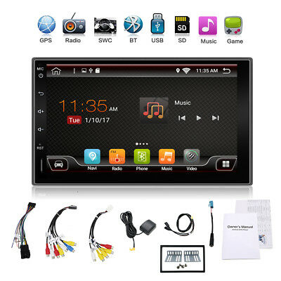 "Autoradio 7""  Quad Core 2DIN Android Stereo Car GPS Navi WIFI BT RDS USB FreeMap"