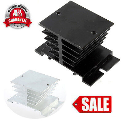 New Aluminum Heat Sink For Solid State Relay SSR Small Type Heat Dissipation  HJ