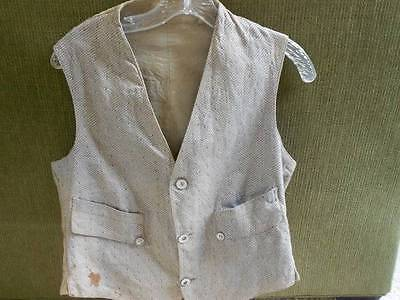 Vintage 1930's Men's Vest from Benjamin Levine, New York.