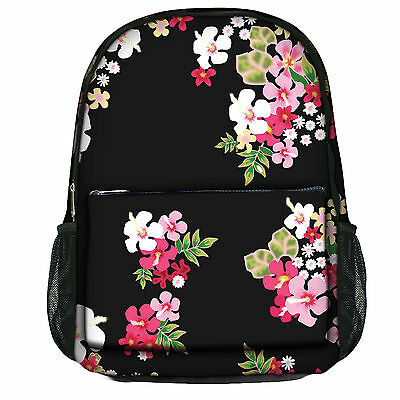 Luxburg® Designer Backpack Rucksack School Gym Travelling bag - Flowers