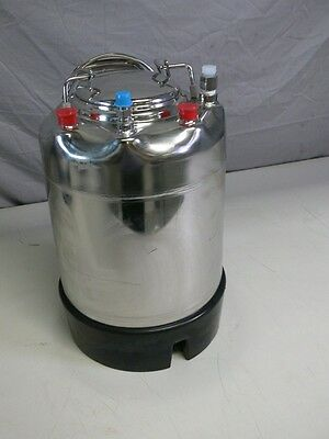 Alloy Products 316L Stainless Steel Pressure Vessel Tank 140 PSI
