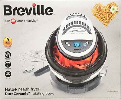 Breville VDF122 Halo+ DuraCeramic Rotating 1.25Kg Health Fryer