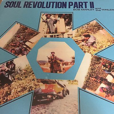 BOB MARLEY AND THE WAILERS 'Soul Revolution Part II' LP VINYL 12 Track BRAND NEW
