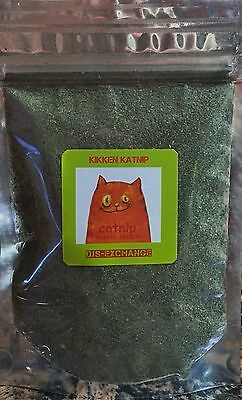 Catnip 8 oz Ounce Loose Bulk Catnip  Resealable Bag Very Fresh and Potent !!!