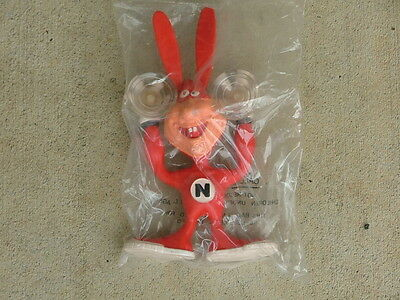 Vintage Domino's Pizza Noid 1989 Bendy Ad Figurines  ( Will Vinton Productions )