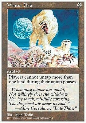 Globo dell'Inverno - Winter Orb MTG MAGIC 5ED 5th Edition Eng/Ita