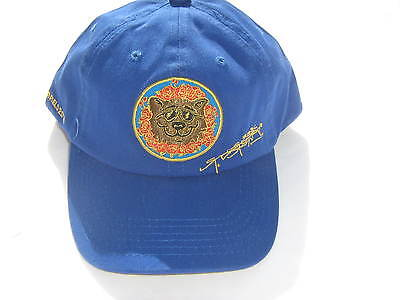 Grateful Dead OFFICIAL Stanley Mouse Fare Thee Well Chicago Baseball Hat BLUE