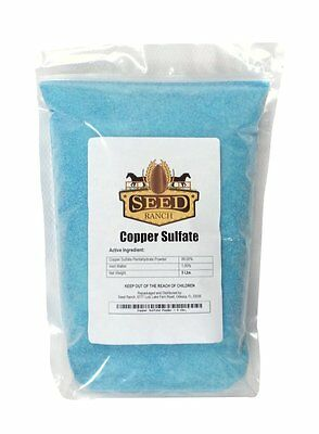 Copper Sulfate Powder - 99.8% Pure - Free Shipping
