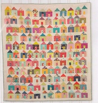 Village - fabulous pieced quilt PATTERN for charm packs - Miss Rosie's Quilt Co