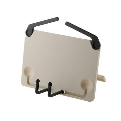 Adjustable Bookstand Reading Holder for Books Music Documents iPads-Beige