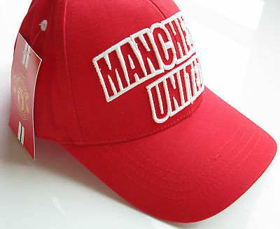 Genuine - Manchester United Cap - Embroidered - BNWT - Rooney Pogba Ibrahimovic