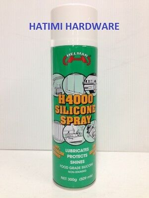 SILICONE SPRAY LUBRICANT FOOD GRADE 300g H4000 HELMAR FOR TREADMILLS,BICYCLE/OIL