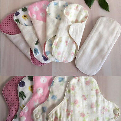 4Pcs/lot with A Beige One A Pad Pouch for Free Reusable Cloth Panty Liner