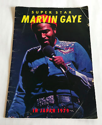 MARVIN GAYE In Japan 1979 JAPAN CONCERT PROGRAM BOOK