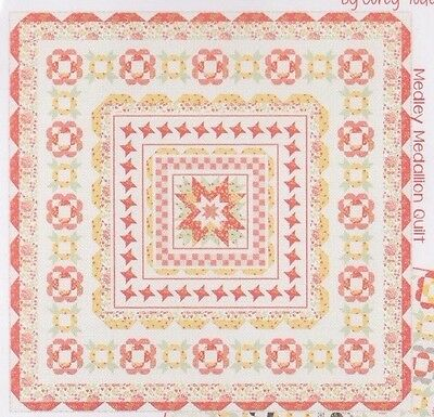 SALE - Medley - modern pieced quilt PATTERN - 2 designs - Coriander Quilts