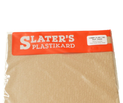 Slaters 0420 7mm Stone Courses Grey Large Sheet