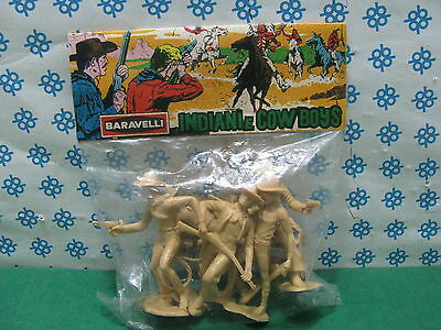 Vintage - COWBOY  serie Indiani e Cowboy      75mm.  - Baravelli  Italy 1972/75