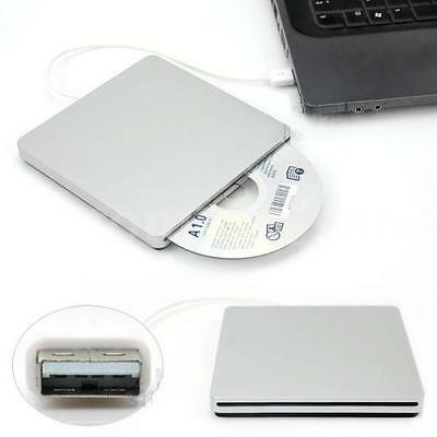 USB 3.0 External Slot In DVD RW CD Drive Burner Superdrive Player For Tablet