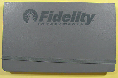 Fidelity Investment Moleskin memo book / planner  -- 5 1/4 x 8 inches