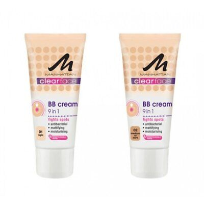 Manhattan Clearface 9 In 1 BB Creme